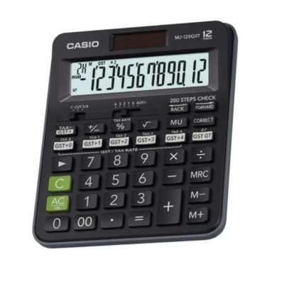 CASIO GST Calculators   MJ-120GST
