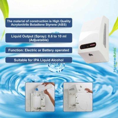 Automatic Hand Disinfectant Dispenser 2100ml