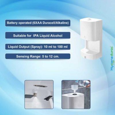 automatic hand sanitizer dispenser Hygienedunia