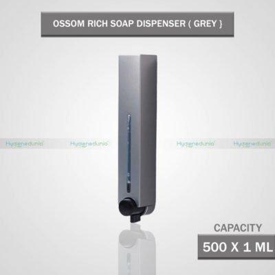 Ossom RICH Soap Dispenser 500 Grey Slim Design