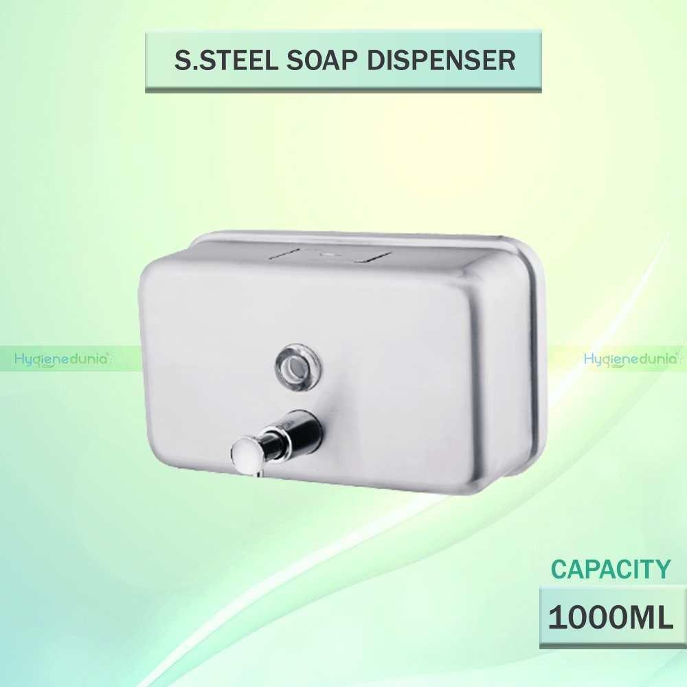 Stainless Steel Dispenser Horizontal 2021 | 1000ml OSSOM®