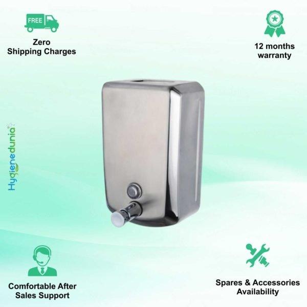 1000-SS Soap Dispenser Soap and Gel Hand Sanitizer