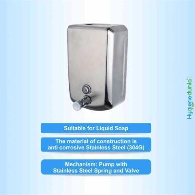 5001-SS Soap Dispenser V-Shape OSSOM