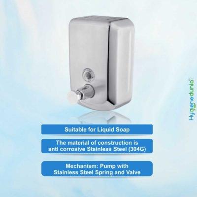 8001-SS Soap Dispenser | 800ml capacity, V-Shape Ossom